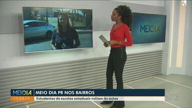 Escolas estaduais de Paranavaí retomam as aulas - Reposição de aulas perdidas por causa da greve será feita, também, aos sábados.
