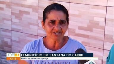 Vítima do feminicídio em Santana do Cariri estava grávida - Saiba mais em g1.com.br/ce