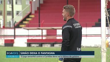 Simão deixa o Operário - O goleiro foi emprestado para um time de Portugal. A partida contra o Coritiba deve ser a última do goleiro.
