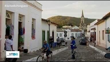 Cidade de Goiás completa 292 anos, volta a ser capital do estado e recebe até ministros - Durante todo o dia teve festa na cidade, que é patrimônio histórico da humanidade.