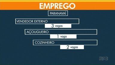 Confira as vagas de emprego - Paranavaí tem 40 vagas abertas nesta quinta-feira.