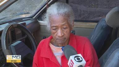 'Levei tapa na cara', diz idosa internada em asilo investigado em Santa Luzia - Ela foi buscada por sobrinhos neste domingo (28).