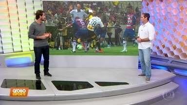 Caio Ribeiro analisa atuação de Pedrinho contra o Fortaleza - Caio Ribeiro analisa atuação de Pedrinho contra o Fortaleza