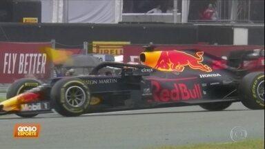 Verstappen vence GP da Alemanha em corrida marcada por muitos acidentes - Verstappen vence GP da Alemanha em corrida marcada por muitos acidentes