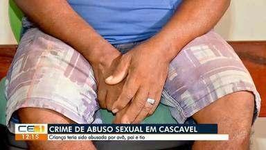 Criança teria sido abusada por avô, pai e tio - Saiba mais em g1.com.br/ce