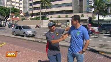 No Recife, Fumagalli revive dias de ídolo do Sport - No Recife, Fumagalli revive dias de ídolo do Sport