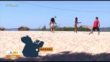 Veja como foi o último fim de semana de julho nos balneários do Pará - Praias do Pará lotaram de veranistas.