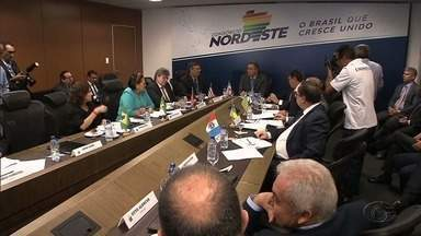 Encontro em Salvador reúne governadores e vice-governadores do Nordeste - Essa foi a primeira reunião desde a formalização do Consórcio Nordeste.