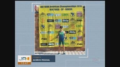 Atleta de Tubarão vence prova no Campeonato Continental de Ultramaratona em SP - Atleta de Tubarão vence prova no Campeonato Continental de Ultramaratona em SP