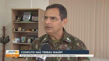 'Não houve indícios de invasão', diz Exército sobre possível conflito e morte de índio - Waiãpi denunciaram a invasão no sábado (27). Segundo comandante, PF fez perícia na região. Cacique foi morto no dia 23 de julho.