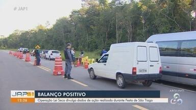 Lei Seca flagra 36 motoristas sob efeito de álcool durante festa de São Tiago, no AP - Número representa 1% dos mais de 3 mil condutores abordados em festividade que ocorreu no município de Mazagão.