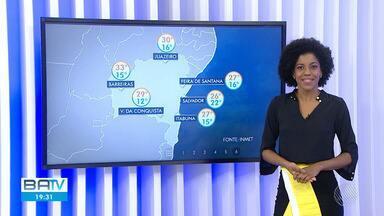 Confira a previsão do tempo para Salvador e o interior do estado - Na terça-feira (30), o dia continua nublado em Salvador e Litoral Norte.
