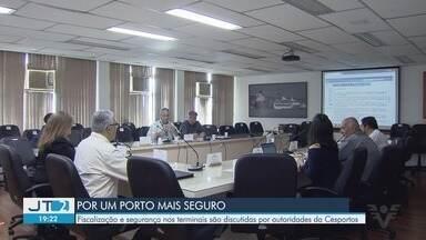 Encontro discute fiscalização nos terminais e melhora na segurança do Porto de Santos, SP - Autoridades da Cesportos discutiram o tema nesta segunda-feira (29).