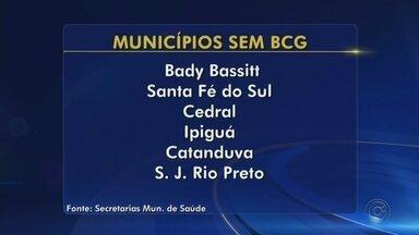 Municípios do noroeste paulista estão sem estoque da vacina BCG - A Secretaria de Saúde de São José do Rio Preto (SP) confirmou que a cidade está sem a vacina BCG nesta segunda-feira (29). A falta é tanto nas unidades de saúde quanto nas maternidades.
