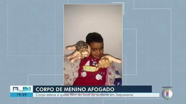 Corpo de menino levado por onda em Saquarema, RJ, é encontrado uma semana depois - Corpo de Pietro foi localizado em Barra Nova, quase oito quilômetros do local do sumiço.