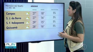 Confira a previsão do tempo para o Norte e Noroeste Fluminense - Veja as temperaturas para esta terça-feira (30).