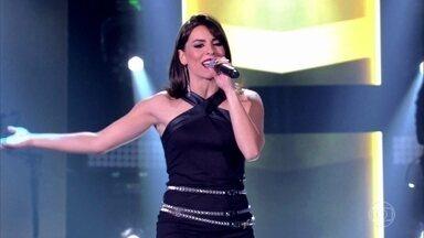 """Carol Coutas canta """"Brasil"""" - Cantora escolhe ficar no time Lulu Santos"""
