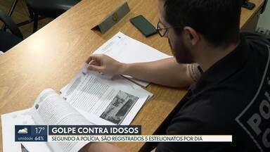 """DF registrou 981 golpes contra idosos em 2019 - Um homem foi preso no Núcleo Bandeirante por aplicar o conhecido """"golpe do paco""""."""