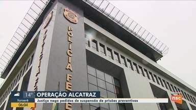 Justiça nega pedidos de suspensão do inquérito da Operação Alcatraz - Justiça nega pedidos de suspensão do inquérito da Operação Alcatraz