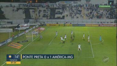 Ponte Preta perde em casa para o último colocado - Ponte tem dois expulsos e leva gol no fim do jogo.