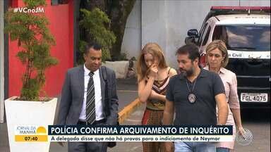 Caso Neymar: Polícia Civil confirma arquivamento do inquérito - Confira os destaques do noticiário nacional com Juliana Cavalcanti.
