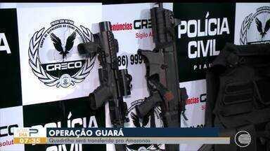 Membros de facção criminosa presos em operação no Piauí são transferidos para o Maranhão - Membros de facção criminosa presos em operação no Piauí são transferidos para o Maranhão