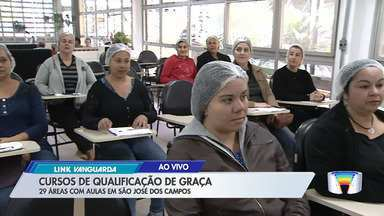 São José tem mais de 800 vagas para cursos de qualificação gratuitos - Cursos abordam temas como mercado de trabalho e produção de alimentos.