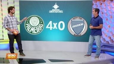 Caio Ribeiro comenta vaga do Palmeiras: VAR polêmico, Felipão tenso, encarada de Dudu... - Caio Ribeiro comenta vaga do Palmeiras: VAR polêmico, Felipão tenso, encarada de Dudu...