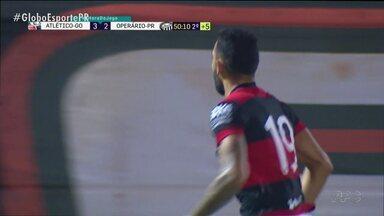 Operário toma virada do Atlético-GO - Fantasma abriu 2x0 em Goiânia, mas não resistiu ao agora vice-líder da Série B