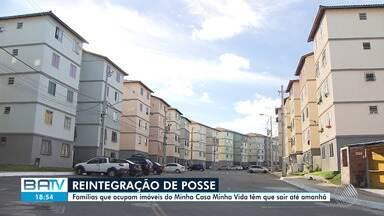 Cerca de cinquenta famílias terão que deixar suas casas na Cia-Aeroporto, em Salvador - A justiça determinou reintegração de posse a favor da Caixa Econômica, proprietária dos apartamentos onde as pessoas estão instaladas.