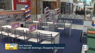 Feirão reúne mais de 5 mil imóveis à venda no Grande Recife - Evento acontece no Shopping Tacaruna e tem oportunidades a partir de R$ 115 mil.