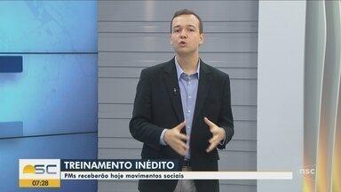Seminário debate situação de movimentos sociais com sargentos da PM em Florianópolis - Seminário debate situação de movimentos sociais com sargentos da PM em Florianópolis