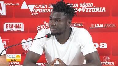 Reforço no ataque do Vitória já pode estrear no jogo de sábado contra o Brasil de Pelotas - Jordy Caicedo é mais uma opção ofensiva para o clube rubro-negro.