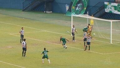 Manaus vence o Sobradinho-DF por 2 a 1, mas é eliminado da Copa Verde; veja como foi - Como havia perdido por 4 a 1 na ida, está fora da competição.