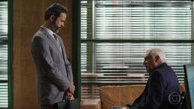 Alberto diz que vai pagar a dívida com os credores - Alberto volta a se desentender com Nana