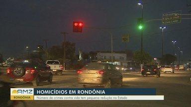 Rondônia investe em tecnologia para redução de homicídios - Houve redução de 6,85%.