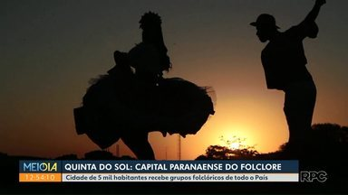 Quinta do Sol promove festival de folclore - Evento reúne grupos de todas as partes do País