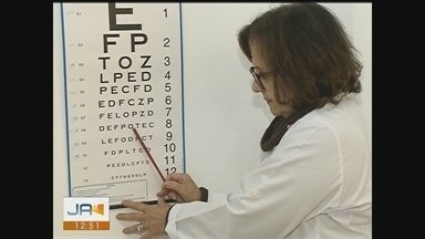 Mutirão realiza atendimento oftalmológico para 100 pacientes em Içara - Mutirão realiza atendimento oftalmológico para 100 pacientes em Içara