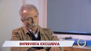 Veja entrevista do ex-diretor do Inpe, Ricardo Galvão, ao Jornal Vanguarda - Veja no vídeo.