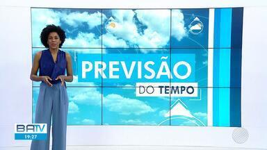 Confira a previsão do tempo para Salvador e o interior do estado - Na terça-feira (6), a previsão é de chuva fraca no litoral baiano.