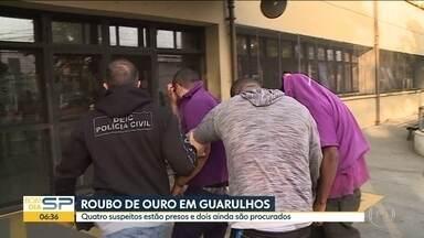 Justiça decreta prisão preventiva de seis envolvidos no roubo de Guarulhos - Criminosos levaram 720kg de ouro no aeroporto