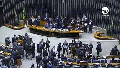 Câmara abre sessão para votar reforma da Previdência em 2º turno - Presidente da Câmara, Rodrigo Maia (DEM-RJ), quer concluir a votação até a quarta-feira (7). 'Na quinta a gente encaminha para o Senado', disse.