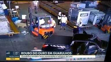 Ladrões do roubo no Aeroporto de Guarulhos podem ter levado mais do que ouro - Suspeita é que os bandidos levaram esmeraldas e relógios de luxo
