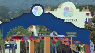 Ibram interdita parcialmente evento Na Praia - O instituto entendeu que há poluição sonora e mandou cortar a música do evento. Organizadores recorrem.
