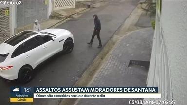 Assaltos assustam moradores de Santana, na zona norte da Capital - Os mesmos ladrões agem há pelos menos uma semana nas ruas do bairro.