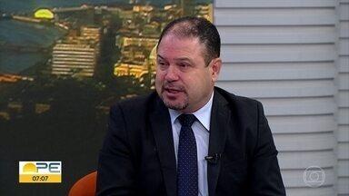 Secretário do Ministério da Saúde discute tecnologia para melhorar atendimento a pacientes - Ele participa de um encontro no Recife.