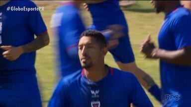 Com novidade na lateral, Paraná Clube está pronto para encarar o Vitória - Léo Príncipe está confirmado na vaga do suspenso Eder Sciola para a partida do Tricolor em Salvador