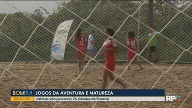 Começam hoje os Jogos da Aventura e Natureza - Atletas vão percorrer 12 cidades do Paraná.