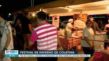 Festival de Inverno movimenta Colatina, ES - É a primeira vez que o evento é feito na cidade, conhecida pelo calor o ano todo.