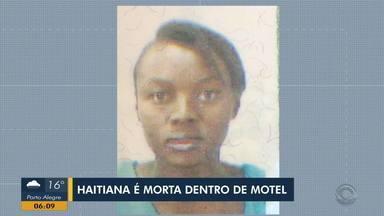Haitiana é morta dentro de motel em Gravataí - Germanie Paul, de 29 anos, morava no Brasil há quatro anos. Há aproximadamente um ano e meio, começou a trabalhar no estabelecimento onde acabou sendo assassinada. Polícia Civil investiga o crime.